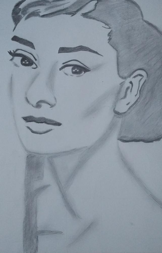 Audrey Hepburn por Lisaram1983